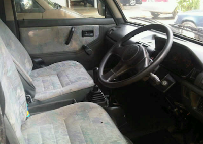 Interior Suzuki Carry Futura