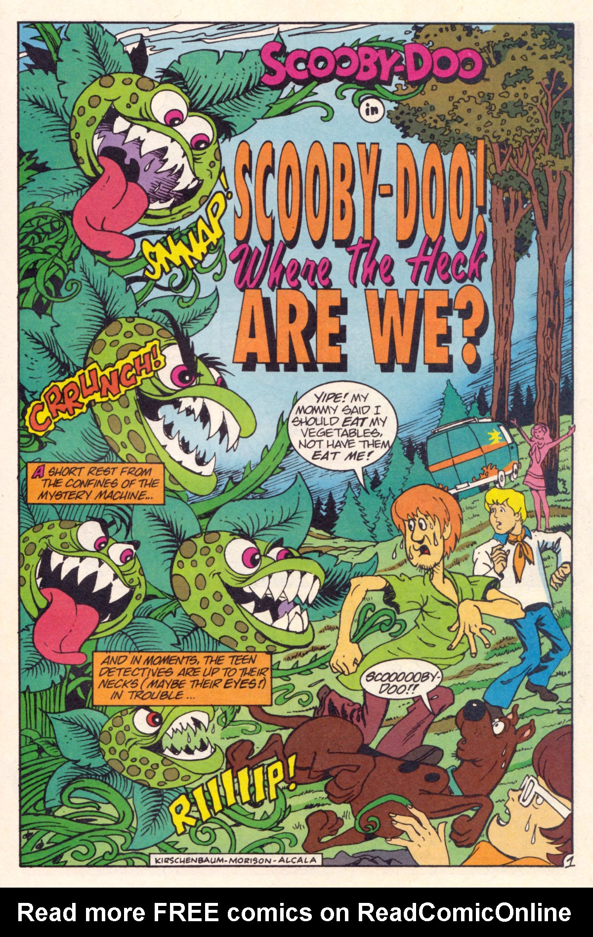 Read online Scooby-Doo (1995) comic -  Issue #12 - 16