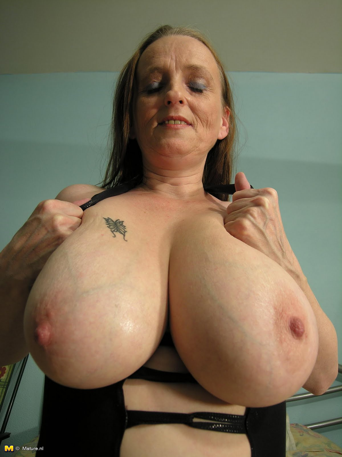 They were huge breast grannies women gorgeous!!!