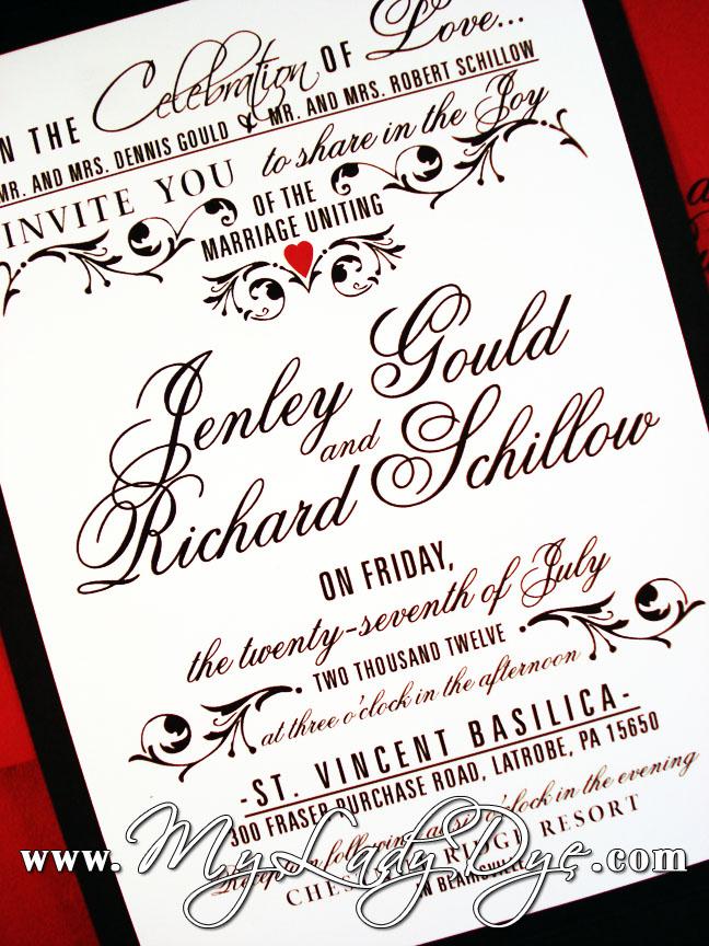wedding invitation Archives My Lady Dye – Black and White Vintage Wedding Invitations
