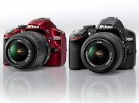 Nikon D3200 Black & Red