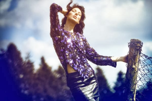 Sequined Field Photography by Kerem Cobanli