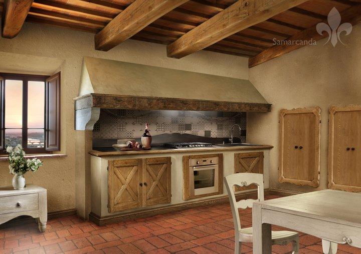 La vita in hobby la mia cucina forse - Cappa cucina in muratura ...