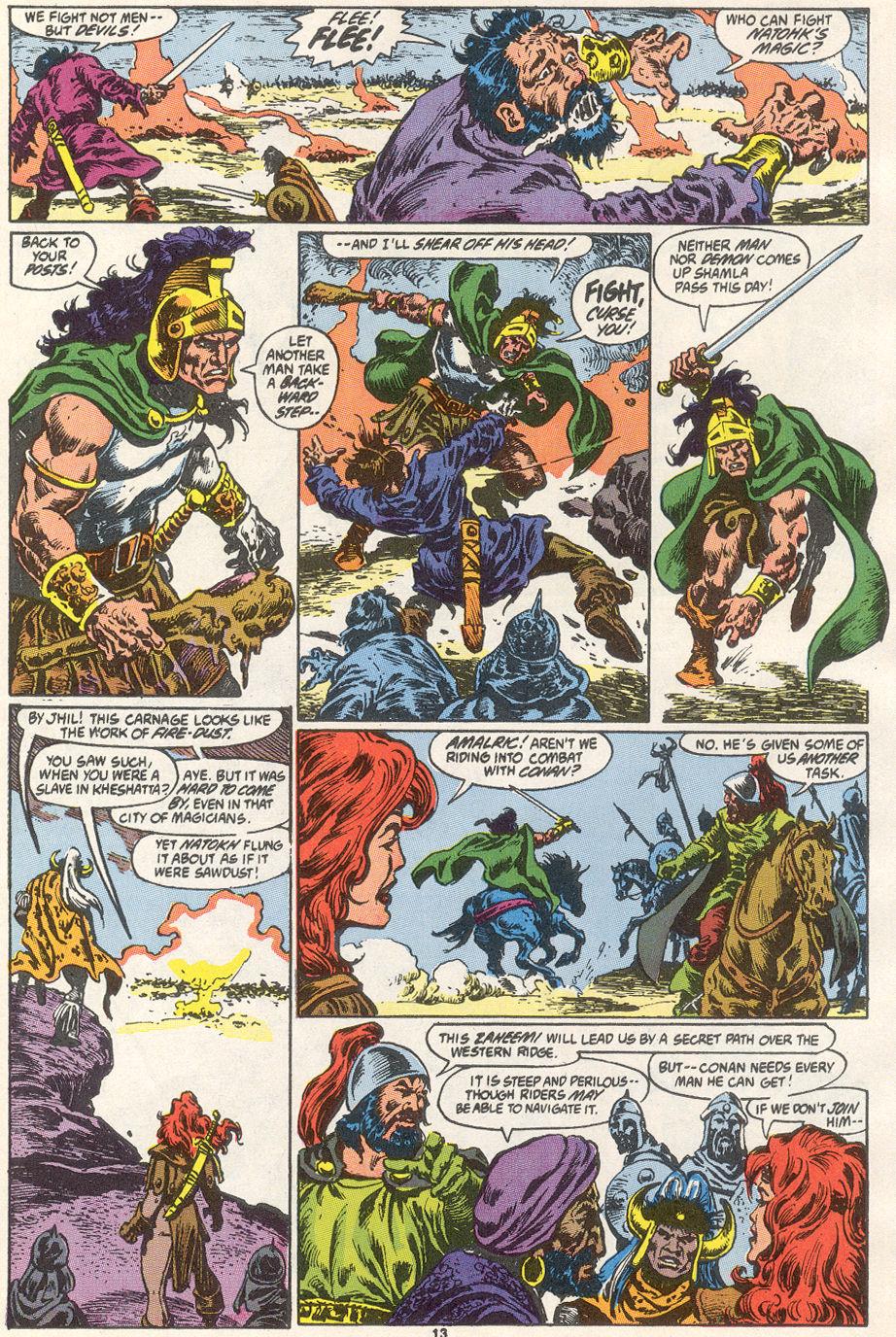 Conan the Barbarian (1970) Issue #249 #261 - English 11