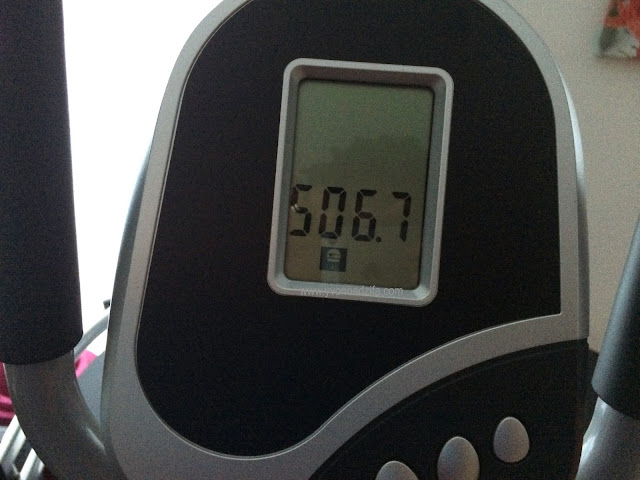 I burnt more than 500 calories in a workout