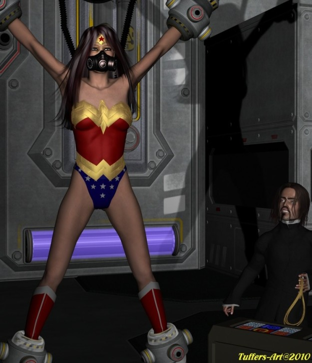 Group Sex Wonder woman captive and in bondage images that