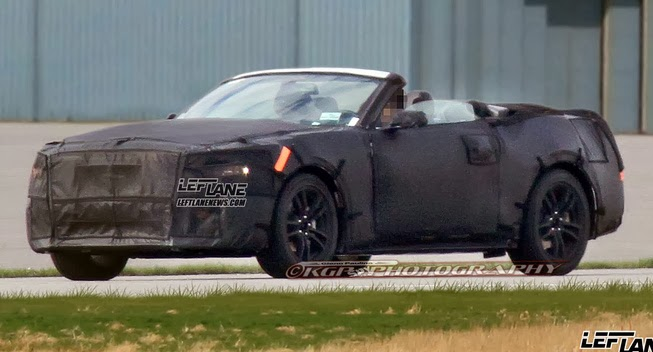 Sneak Peek: 2015 Ford Mustang Convertible
