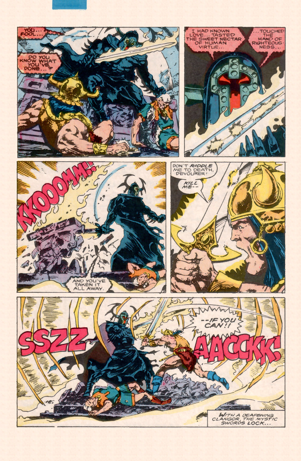 Conan the Barbarian (1970) Issue #200 #212 - English 31