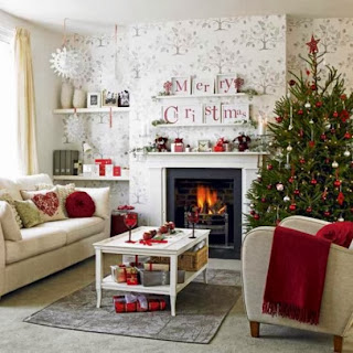 Fireplace Decorating for Christmas, Part 5