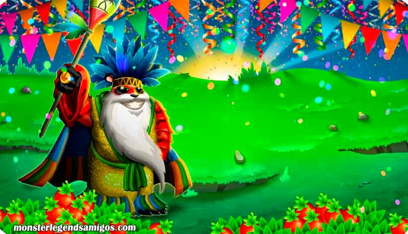 imagen de la oferta especial de carnaval y monster legends