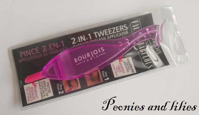 Bourjois 2 in 1 tweezers, Bourjois 2 in 1 tweezers and false eyelash applicator, Bourjois false eyelash applicator, Bourjois, Bourjois false eyelashes, Easy false eyelash application, How to apply false eyelashes