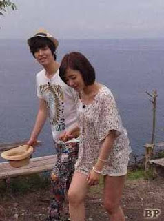 Foto T-ara Eunjung & Lee Jang Woo