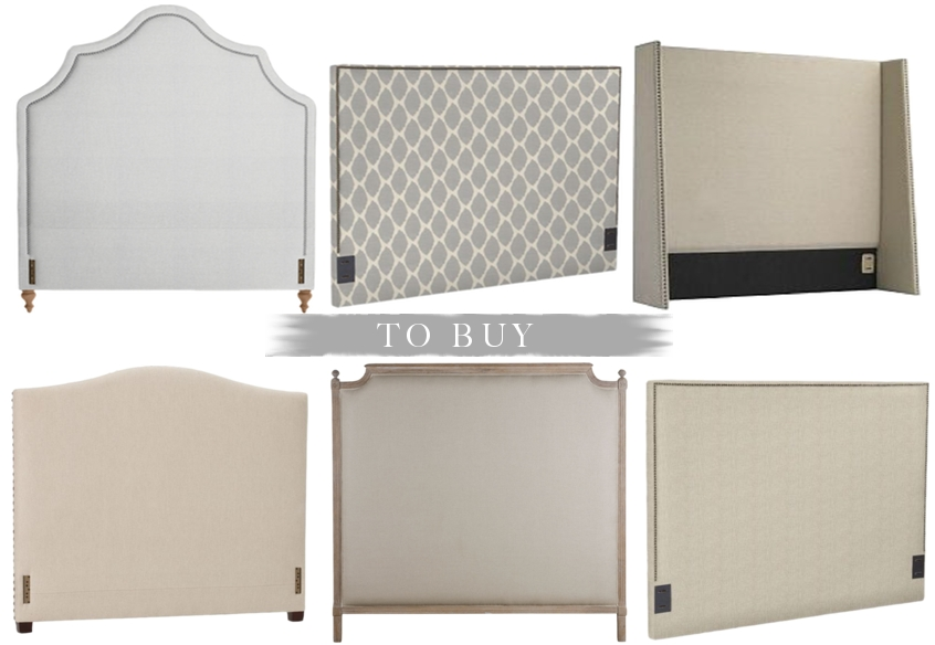 Decorgreat: Upholstered Headboard :: To Buy or DIY?