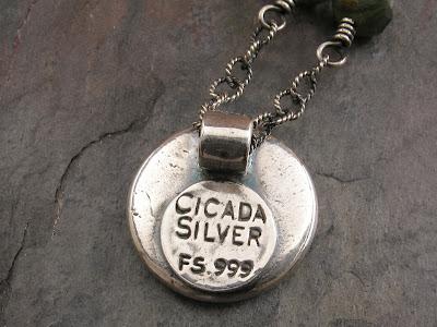 Cicada Silver hallmark