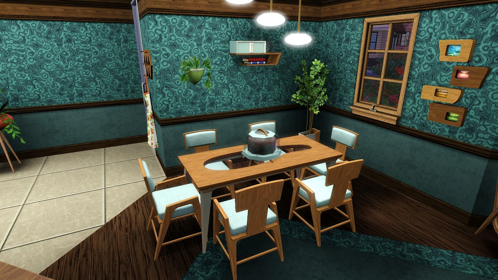 The Iron Seagull 39 S Sims Showcase The Sims 3 Store Mid Century Modern Di