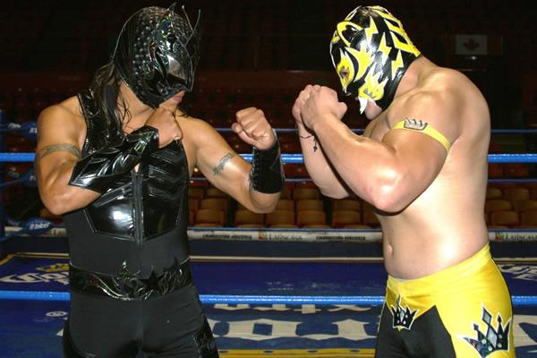 Puma King vs. Rey Cometa
