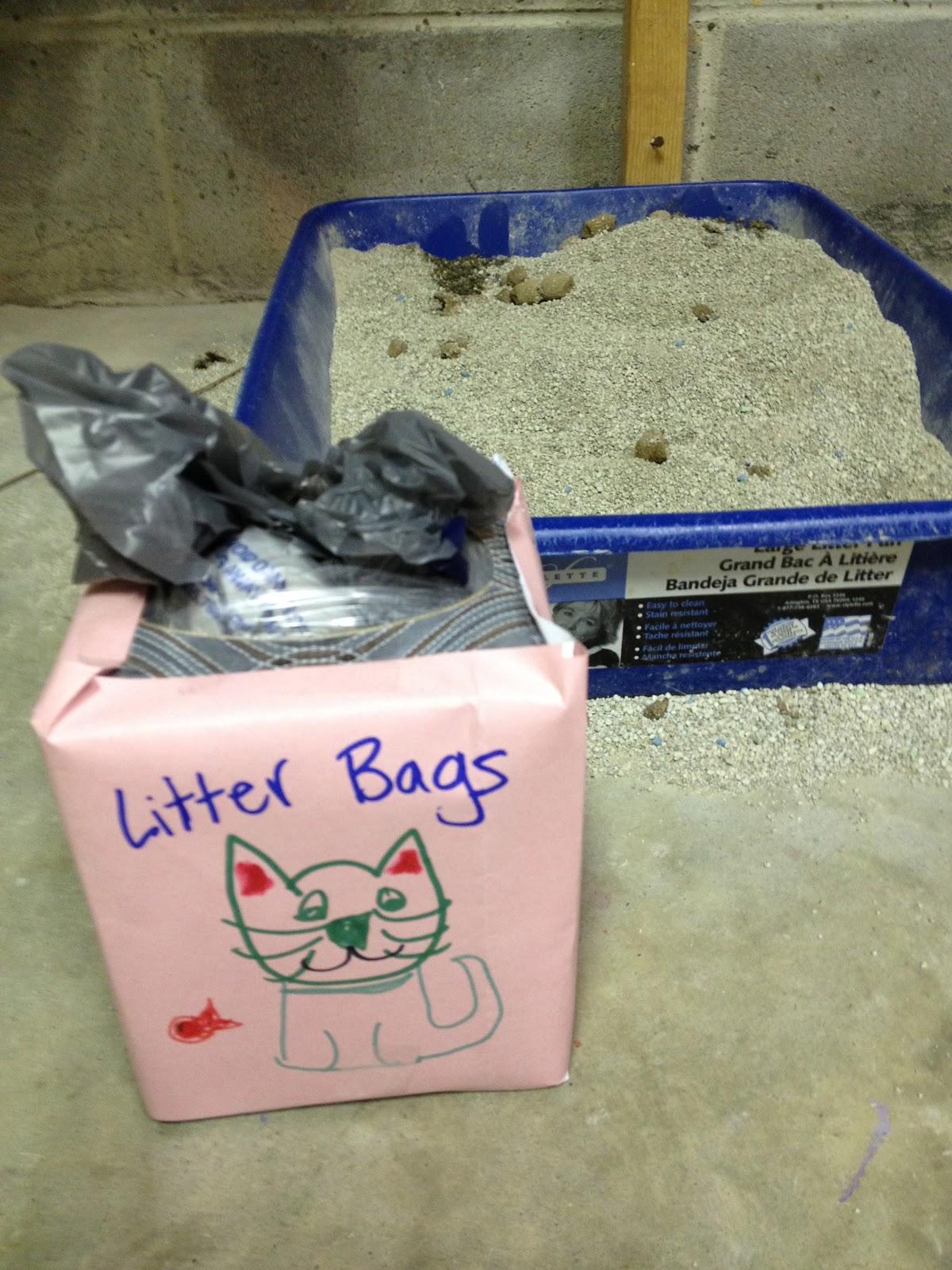 Reusable Cat Litter Bags