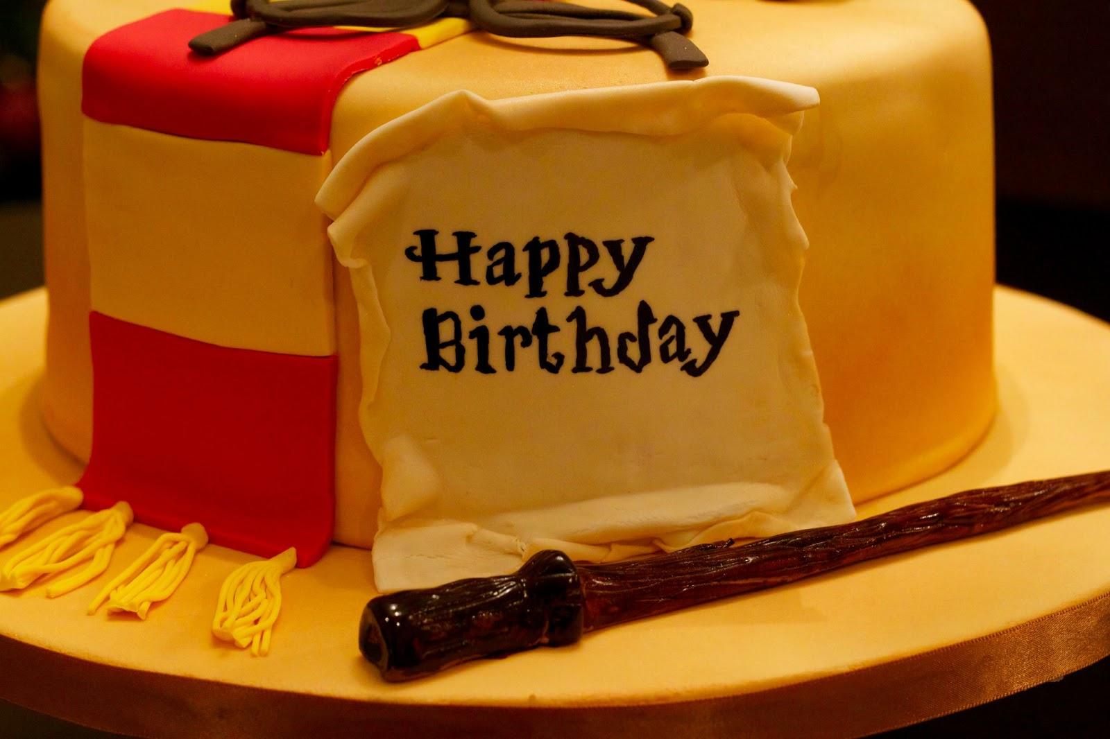 Sweet D Cakes A Happy Harry Potter Birthday