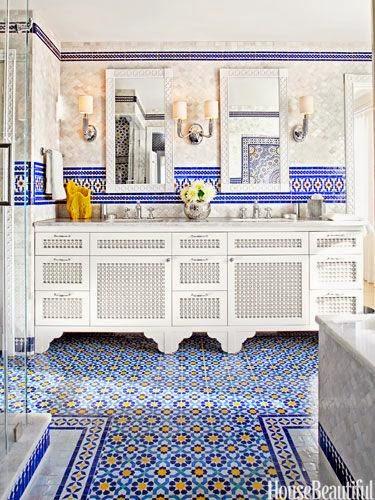 Inspiracje W Moim Mieszkaniu Marokańskie Podłogi