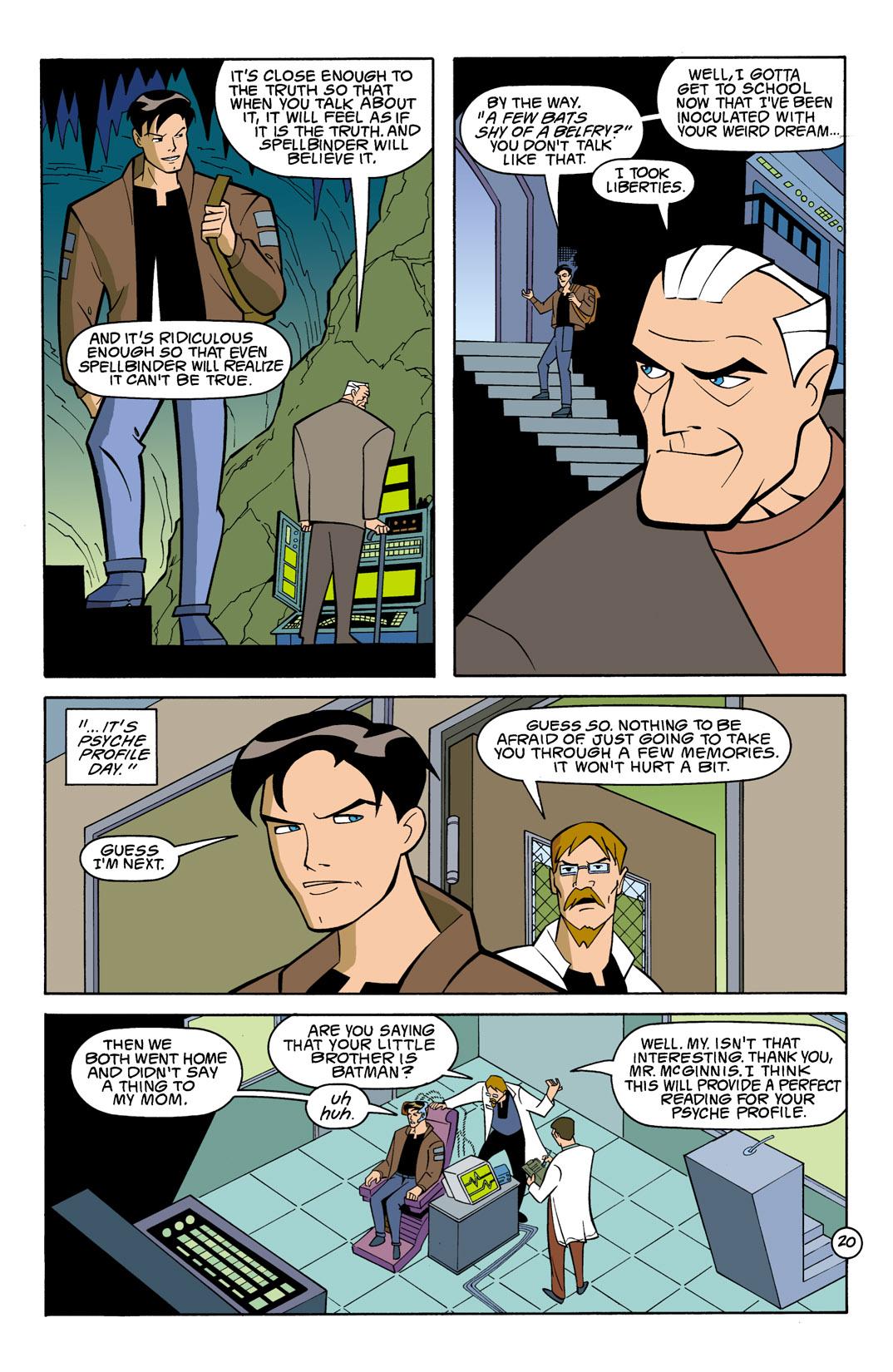 Batman Beyond [II] Issue #7 #7 - English 21