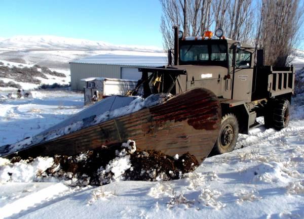 1985 Oshkosh Snow Plow 4x4 Dump Truck - Old Truck