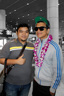 With Jericho Rosales