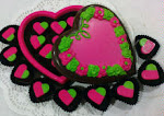 Kotak Coklat Love (small rose) L