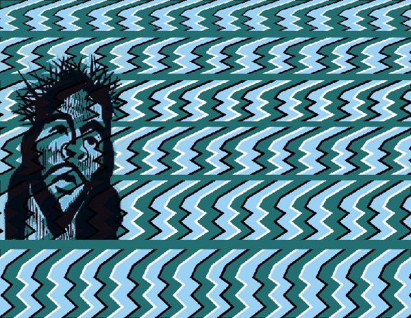 Crazy Pictures Jesus Optical Illusions