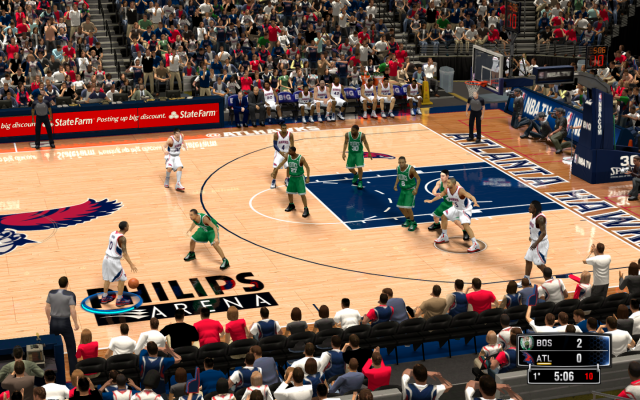 Hawks HD Court | NBA 2K14 PC Mod