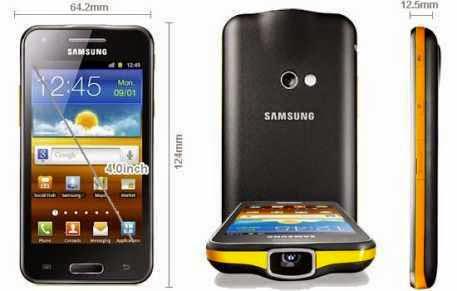 Samsung Galaxy Beam Proyektor