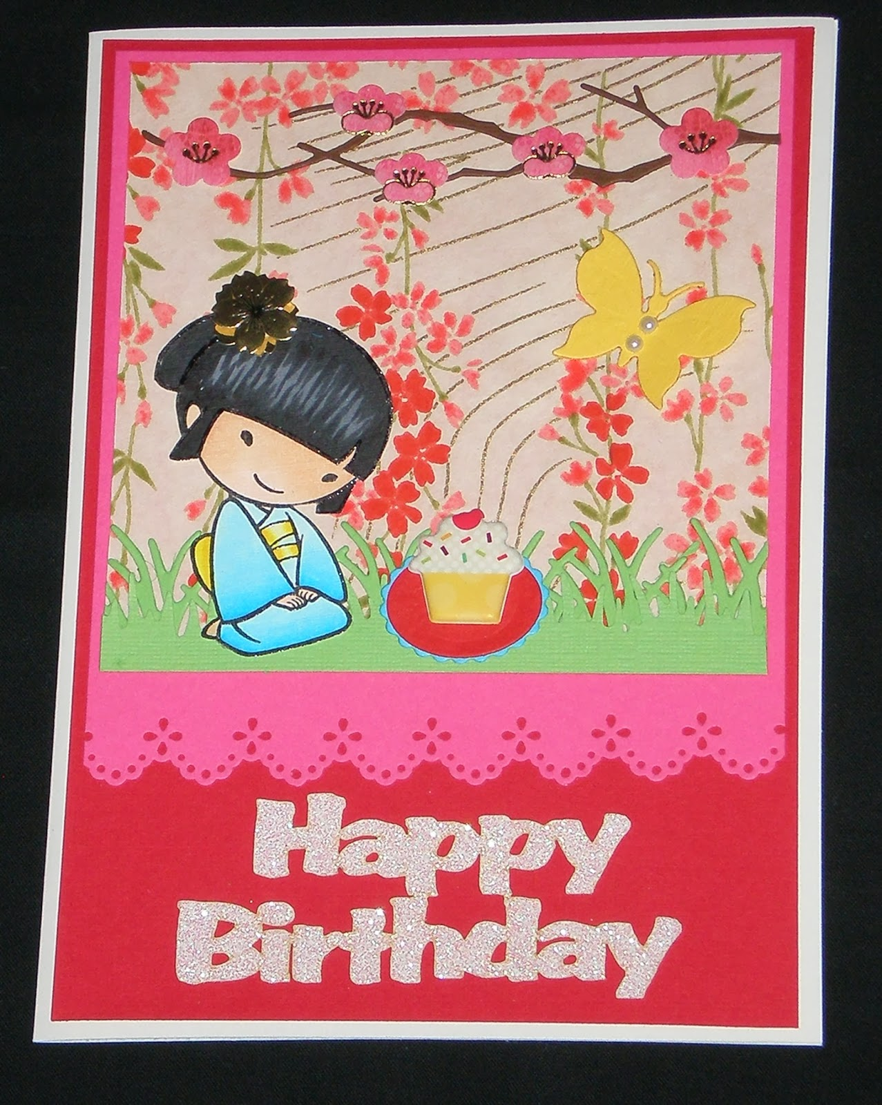 HAVE A SCRAP HAPPY DAY Birthday Card For Sweet Co Worker