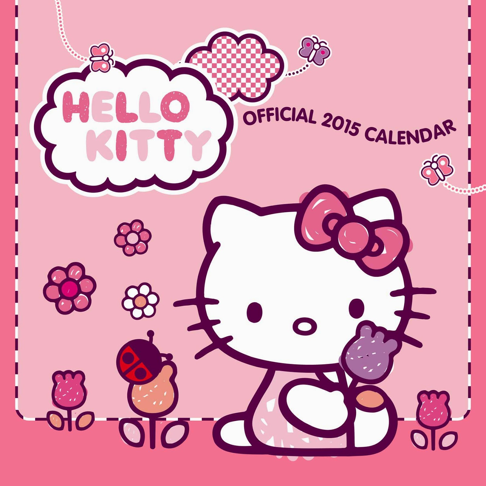 Gambar Hello Kitty 2015 Kalender Wallpaper Lucu HD