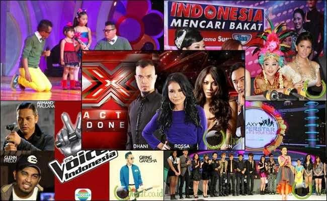 7 Ajang Pencarian Bakat yang paling Populer di TV Indonesia