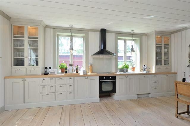 Inspiration New England Kok : Ett kok ot New england hollet Bilder Hemnet