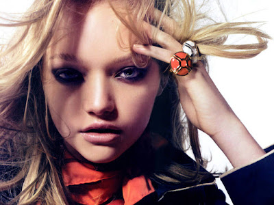 Fashion Model Gemma Ward Wallpaper