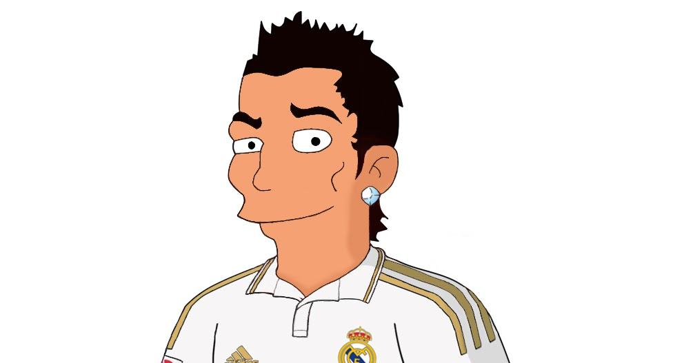 Axel Lembrechts: Mijn Blog: Cristiano Ronaldo Cartoon