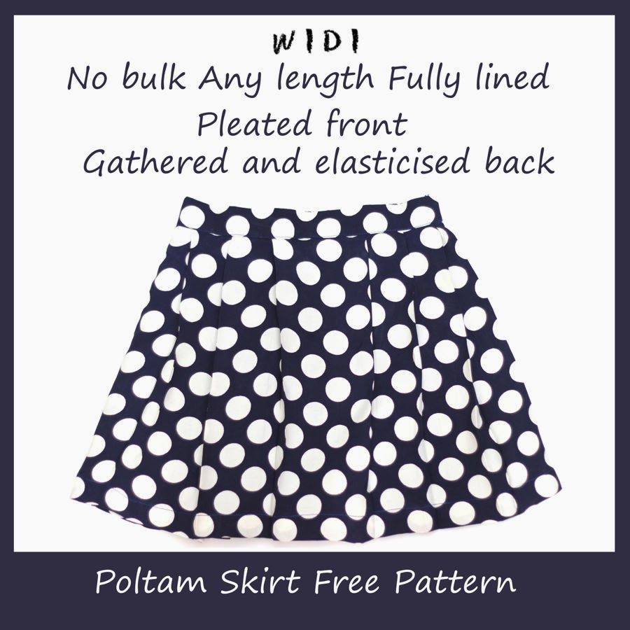 Poltam skirt free pattern