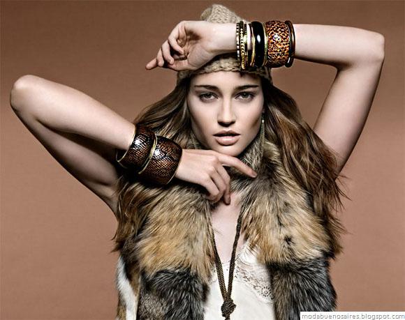 Isadora accesorios: anillos, pulseras, collares invierno 2012. Blog de Moda Aregentina.