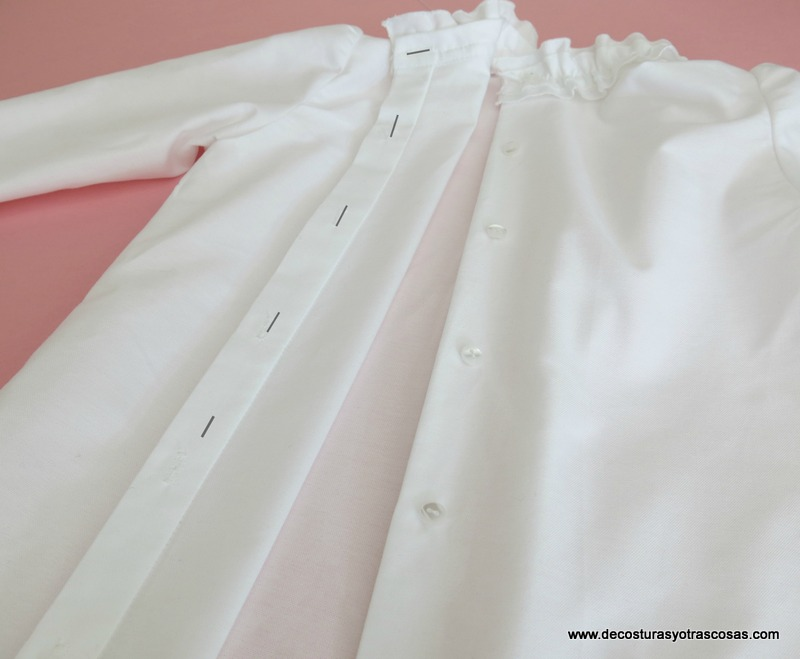 blusa con botones en sopata