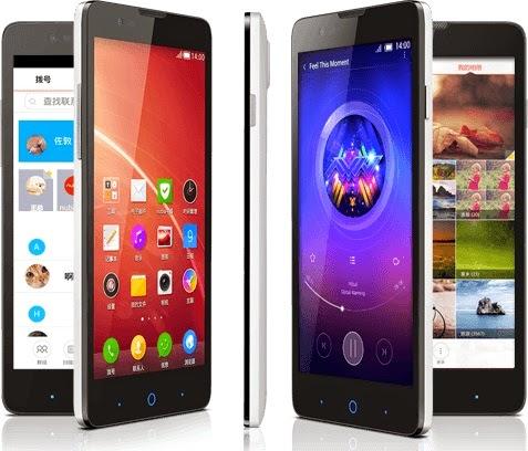 ZTE Blade V5 Smartphone Android Murah Rp 1 Jutaan