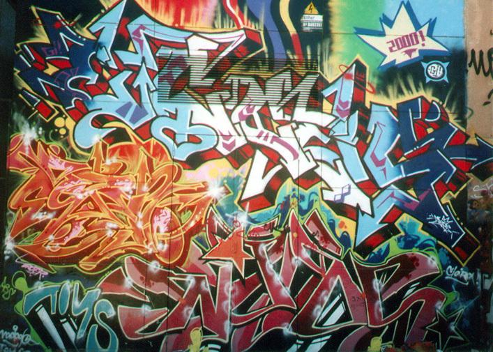 Estos tipos de graffiti fueron sacados de Internet