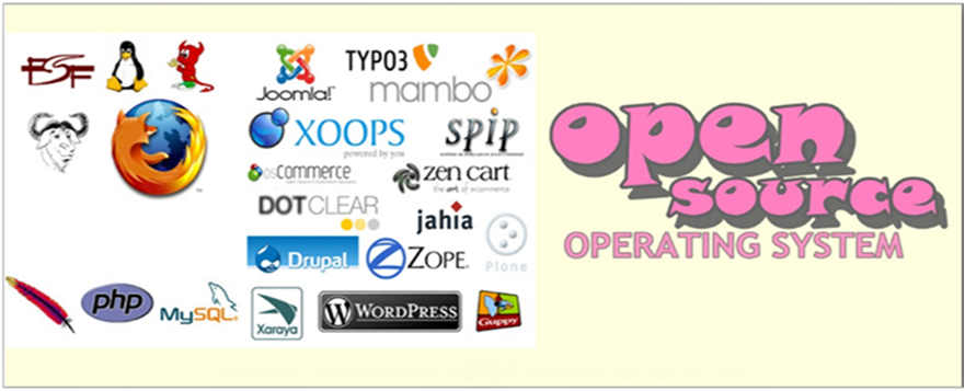 open source OS: TYPES OF OPEN SOURCE SOFTWARE LICENSES
