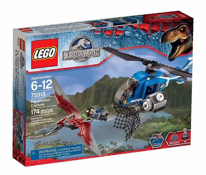 JUGUETES - LEGO Jurassic World  75915 A la caza del Pteranodon  Pteranodon Capture  Producto Oficial Película 2015 | Piezas: 174 | Edad: 6-12 años