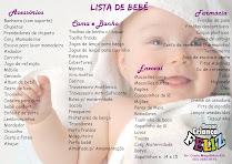 Lista para enxoval de bebê
