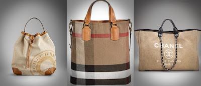 Três tipos de malas para a mulher - mala-saco para o fim de semana