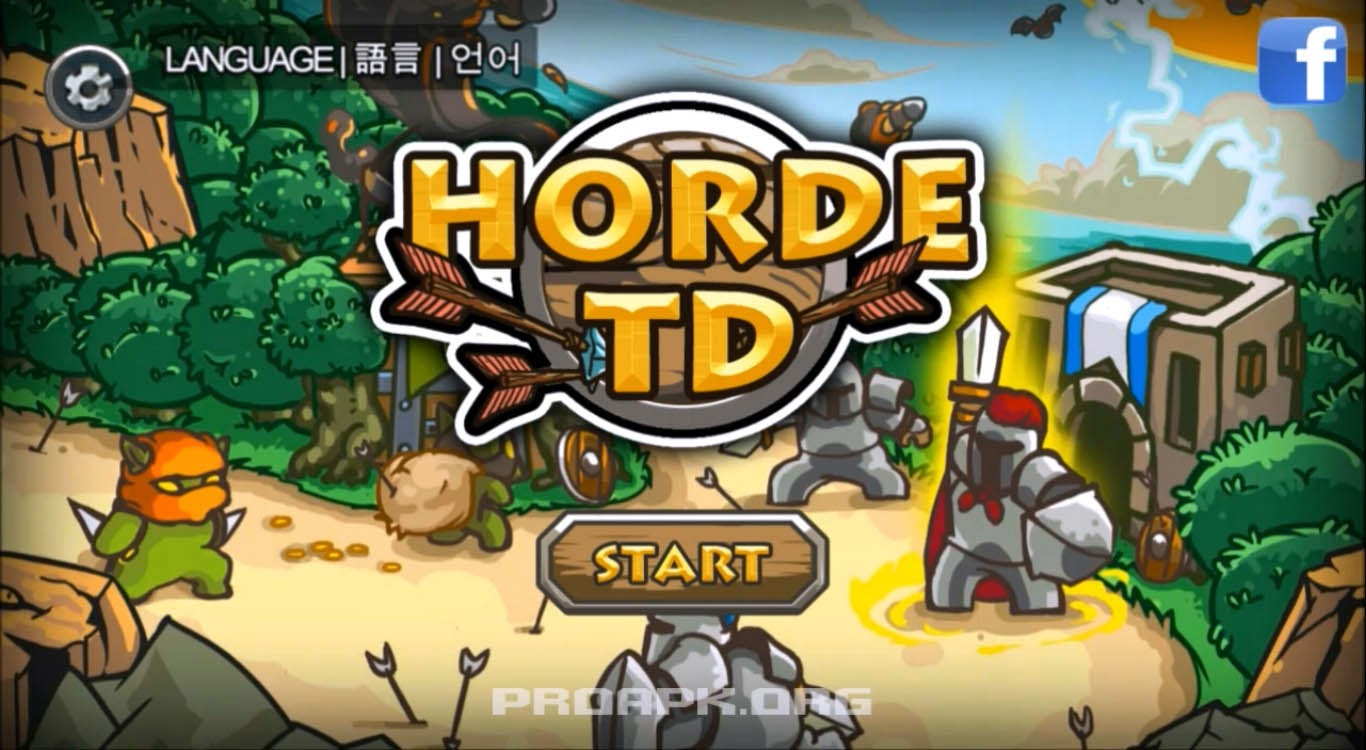 Horde Defense Gameplay Android