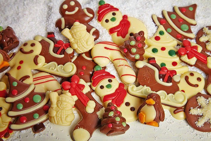 Christmas Chocolates for Kids