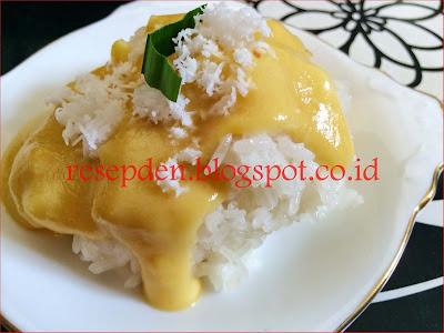 Resep dan Cara Membuat Ketan Durian