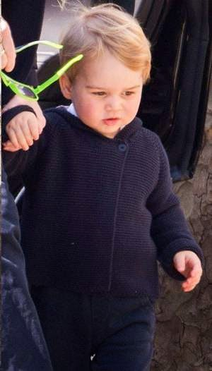 Prince George Spotted Out in London!