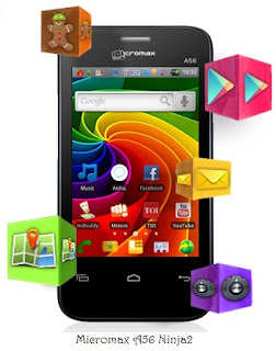 Micromax A56 Ninja2, Apps of A56,Indian Superphone, Mobile with AISHA,Micromax with AISHA